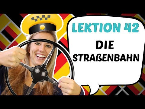 German Lesson 42 Means Of Transport In German 🚖 🚅 🚚 ⛴  Youtube