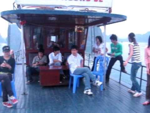 ha long bay - c4g5 CĐ Du lịch Hà Nội Tourism college.