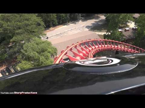 Ninja (On-Ride) Six Flags Over Georgia