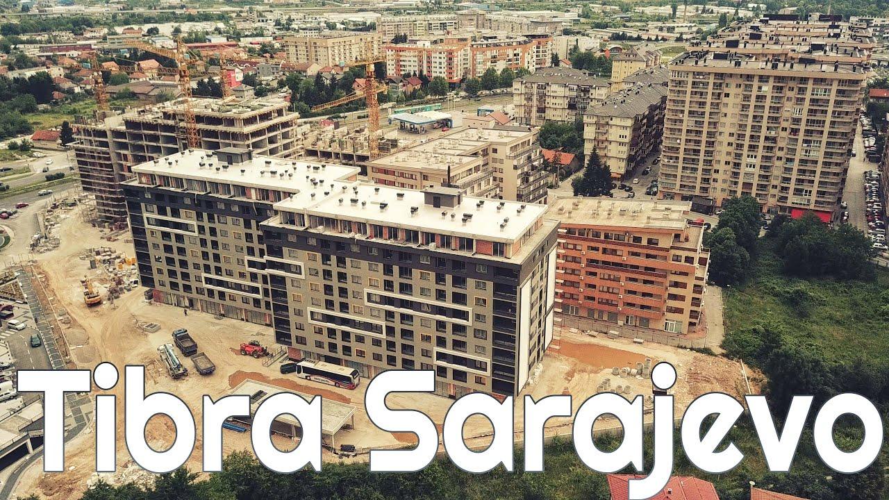 Izgradnja Tibra zgrada na Stupu u Sarajevu