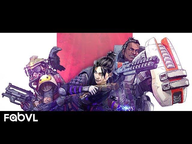 Apex Legends Rap Song - Legend (Battle Royale) | FabvL ft. Moxas & SSLCK