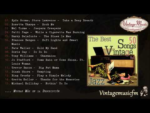 50 Songs Vocal Jazz (Full Album/Álbum Completo) Vol. 2