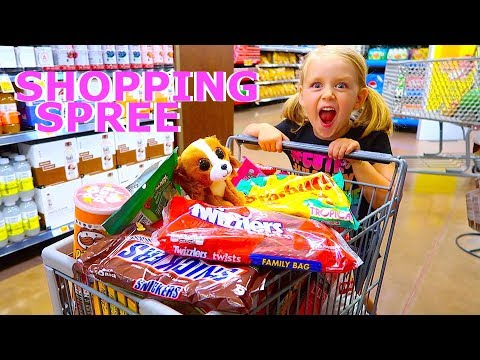 KID Does GROCERY SHOPPING For The Week!