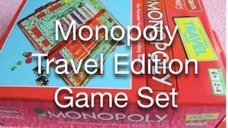 Monopoly Travel Edition Game Set