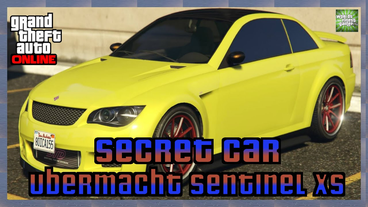 GTA 5 Online Secret Cars | Getunter Ubermacht Sentinel XS ... Ubermacht Sentinel Xs Gta 5 Location
