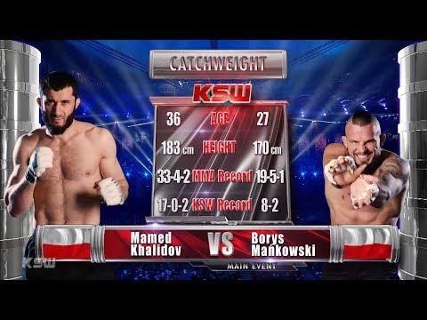 KSW Free Fight: Mamed Khalidov vs Borys Mańkowski [Polski komentarz]