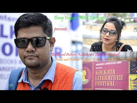 """Books and Authors: Kolkata Book Fair & Literature Festival"""