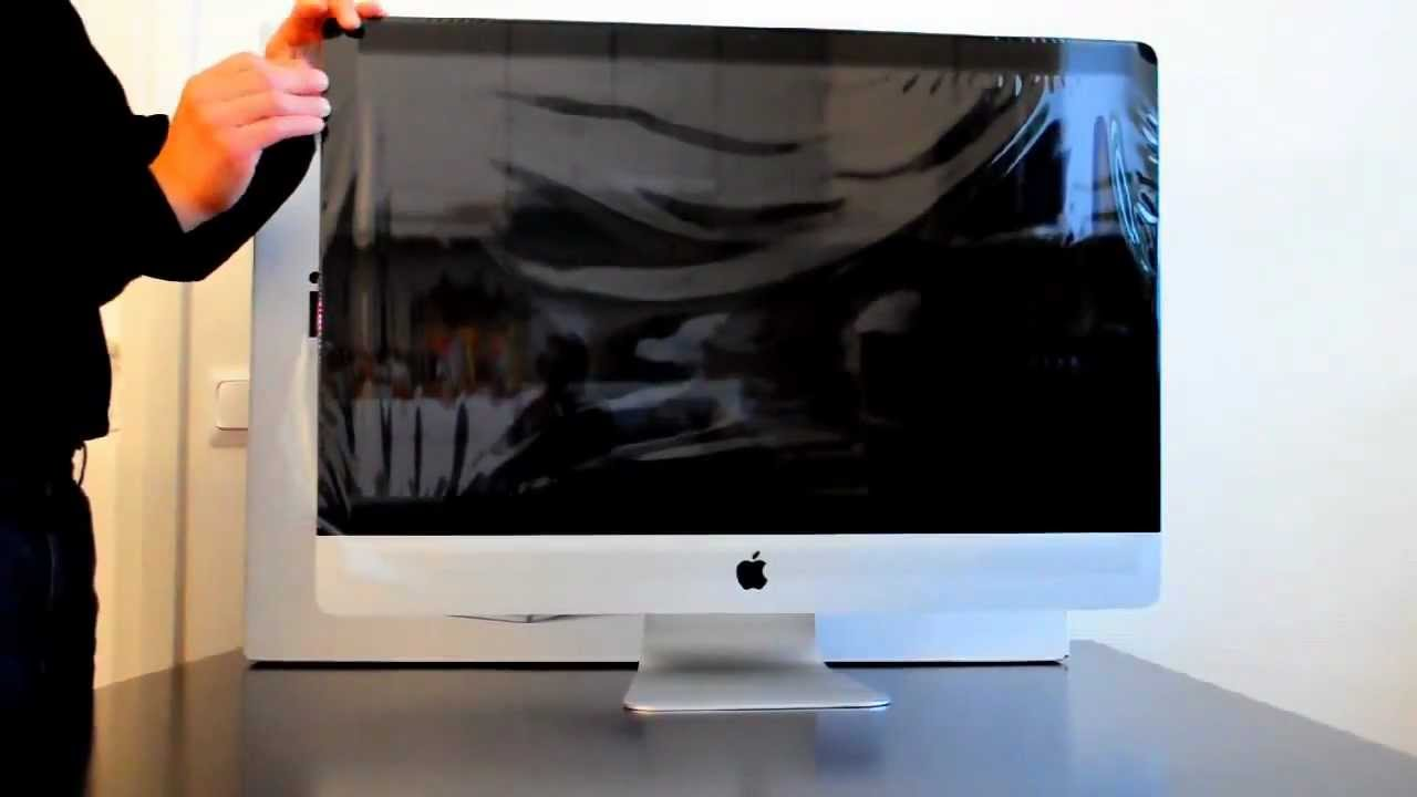 how to open imac 27