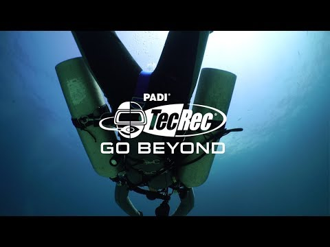 Preview PADI Courses | Go Beyond with PADI TecRec | Technical Scuba Diving