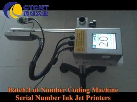 batch number coding machine/Serial number printing machine/ink-jet stamping machine