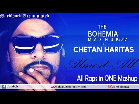 Mashup(2017)|BOHEMIA|All Raps in Just One Song|