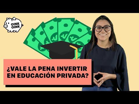 ¿Vale la pena invertir en educación privada?