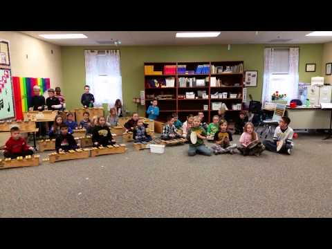 """Rocky Mountain"" folksong with Orff instruments"