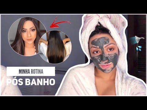 Rotina pós banho (cabelo, pele, corpo) - YouTube ▶5:43