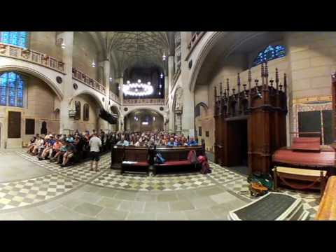Wednesday evening prayer in the Castle Church of Wittenberg