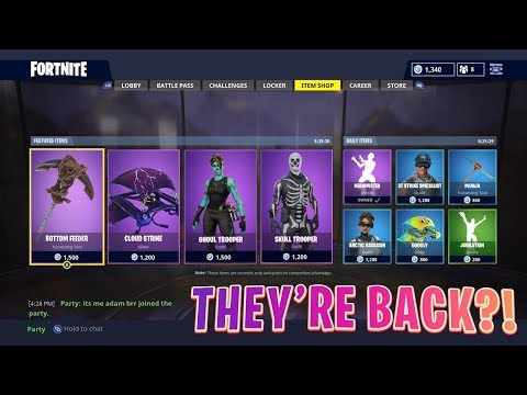HALLOWEEN SKINS ARE BACK IN FORTNITE BATTLE ROYALE! (Fortnite Epic & Funny Twitch Moments #57)