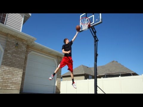 How to make a basketball hoop easy tutorial youtube for How to build a basketball goal