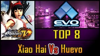 KOF XIV - EVO 2016 - Xiao Hai Vs Huevo - TOP 8 Winners Bracket