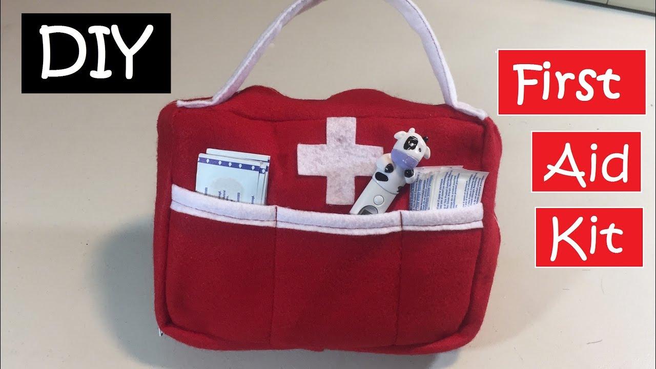 DIY First Aid Kit / How to make bag/ Emergency Bag #34