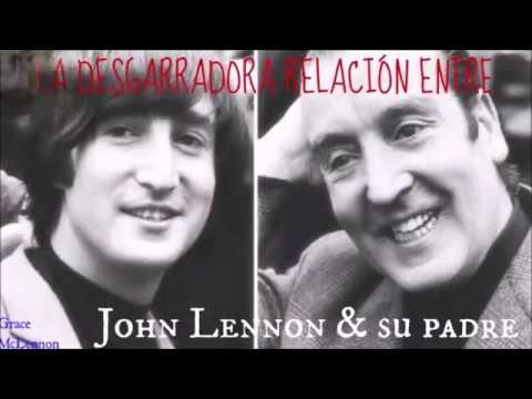 La DESGARRADORA relación entre John Lennon y su padre.