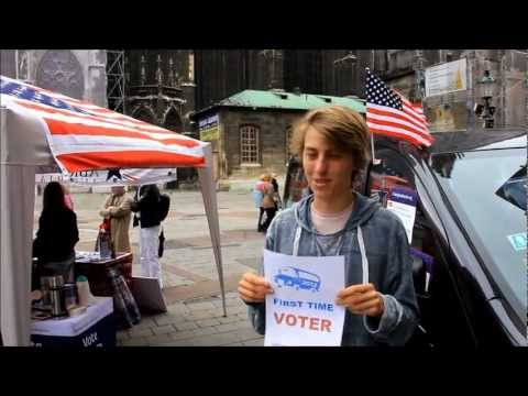 Democrats Abroad Road Trip Voter Registration Drive Vienna