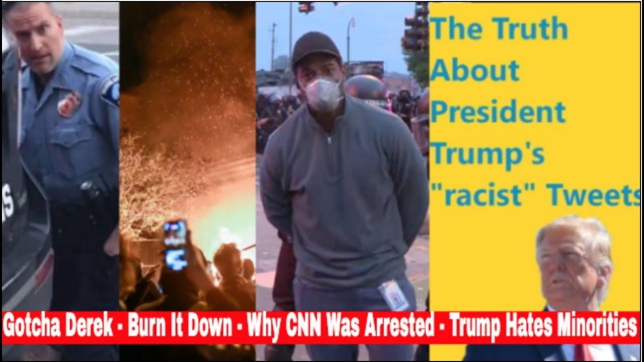 Justice For George Protests Burn It Down -Derek Chauvin Arrested - Trump Racist Tweets - Buy A Tesla