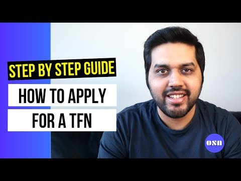 How To Apply For A TFN In Australia | International Students | Step By Step Guide