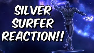 Silver Surfer & Fantastic Four Reaction! - Marvel Contest of Champions Fantastic 4 Years!