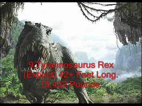 16 Real Giant Monsters