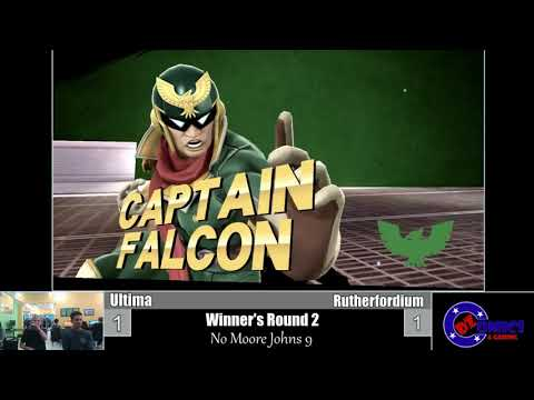 No Moore Johns 9 WR2: Ultima (Captain Falcon) vs Rutherfordium (Lucina)