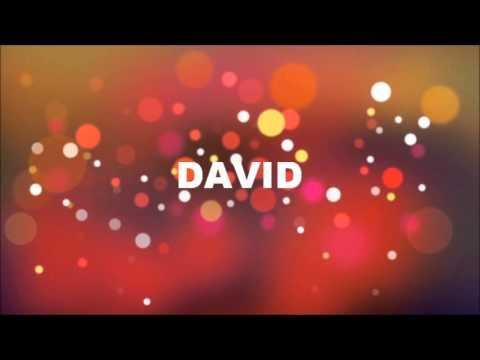 grattis david GRATTIS PÅ FÖDELSEDAGEN DAVID   YouTube grattis david
