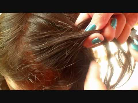 Everyday Hairstyle Front Side French Braid Youtube