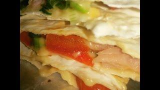 Закуска из лаваша по Дюкану /  The Dukan diet pita bread ideas
