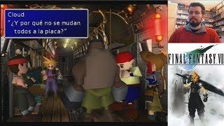 FINAL FANTASY VII (PS1) - Gameplay en Español