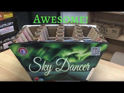 Sky Dancer 500g (Fisherman Fireworks)