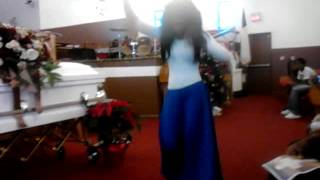 Dancing at brother funeral
