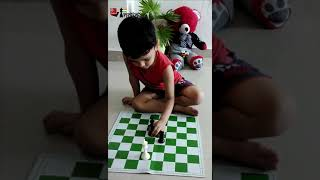 4-year-old shows how to checkmate with a lone rook | ft. Viraj Choudhary