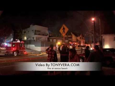 Venice Beach Fire could Be ( ARSON) Tenants Tell Me