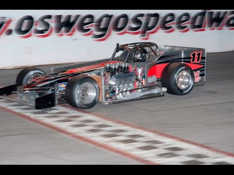 Aric Iosue #11 Supermodified Heat Race from May 21, 2016