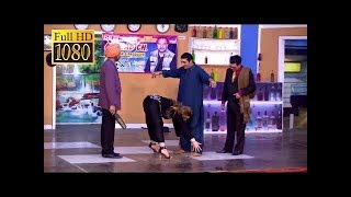 Zafri Khan Best Comedy Scenes Of 2017 in Stage Drama||Very Funny😂||Khushboo,Ifthkar Thakur