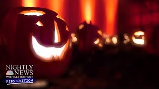 Jack-O'-lanterns Galore: Check Out This Halloween Wonderland | Nightly News: Kids Edition