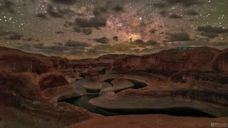 A Night at Reflection Canyon - 4K Timelapse