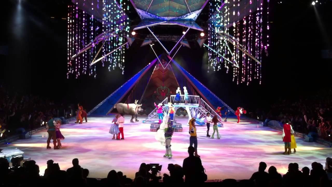 Disney Frozen On Ice Amway Center