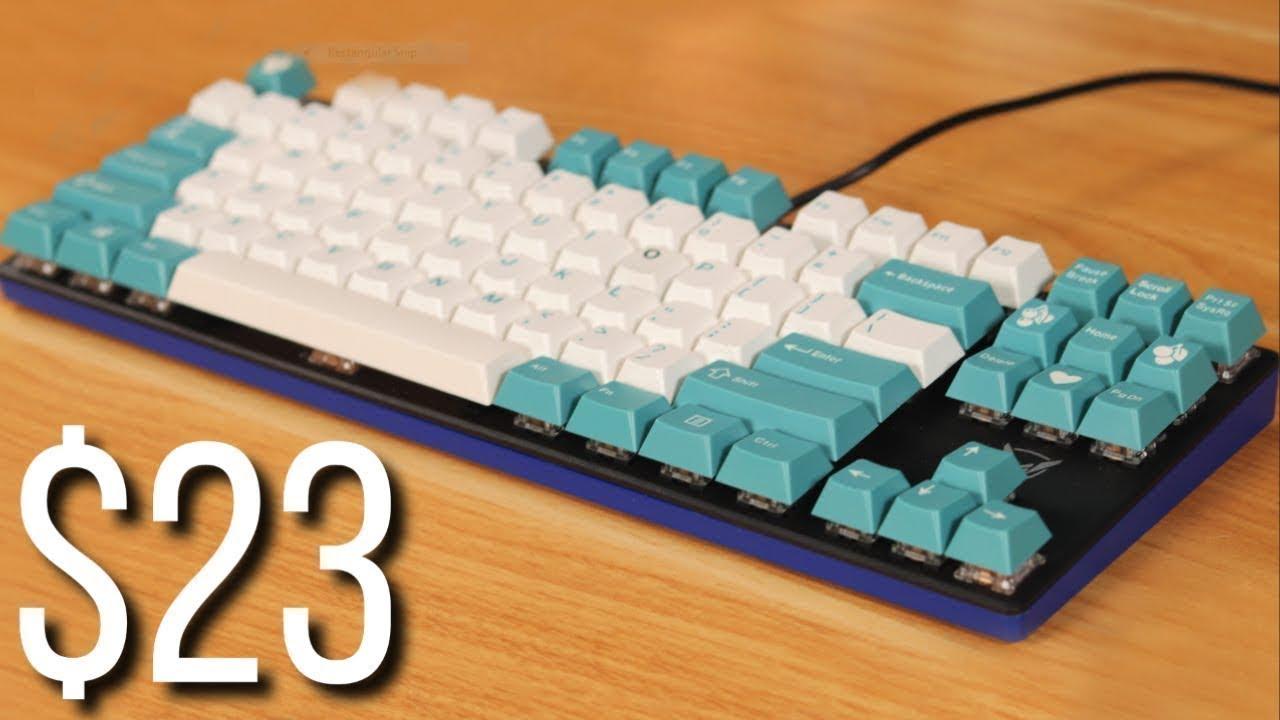 Upgrading the CHEAPEST Keyboard on Amazon