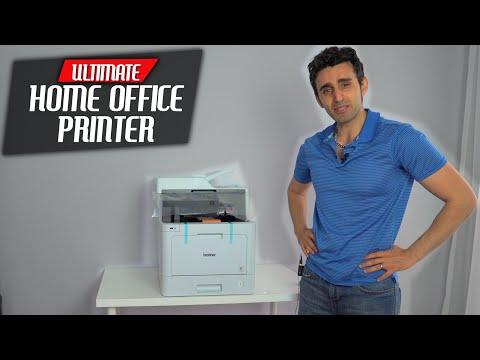 Brother Laser MFC-L8690CDW Setup Guide & REVIEW | Best Color Printer Copier Scanner?