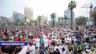 بالصور والفيديو .. توافد المئات على ميدان مصطفى محمود لأداء صلاة العيد