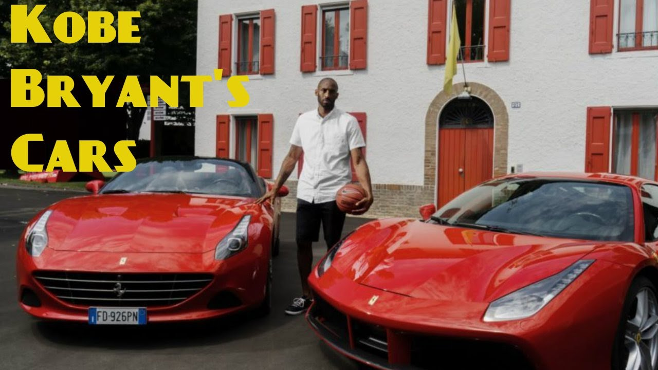 Kobe Bryant Cars >> Kobe Bryant S Cars Collections 2017 Youtube