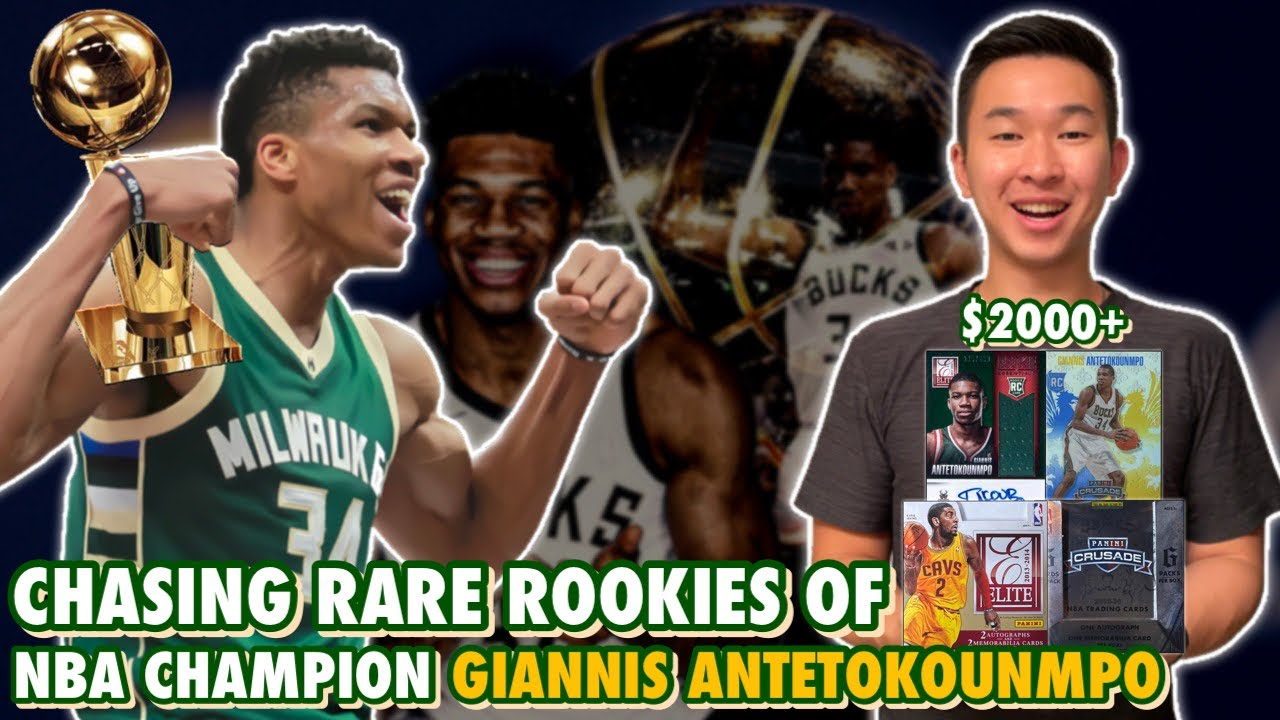 CHASING RARE ROOKIE CARDS OF 2020-21 NBA CHAMPION & FINALS MVP GIANNIS ANTETOKOUNMPO! (HIGH STAKES)