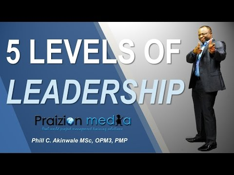 Levels Of Leadership For Project Managers
