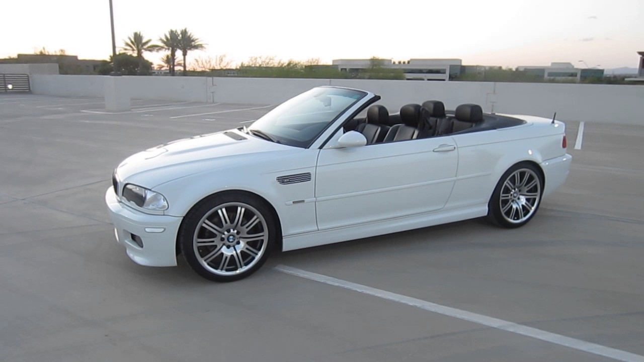 for sale 2006 bmw e46 m3 convertible 6 speed youtube. Black Bedroom Furniture Sets. Home Design Ideas